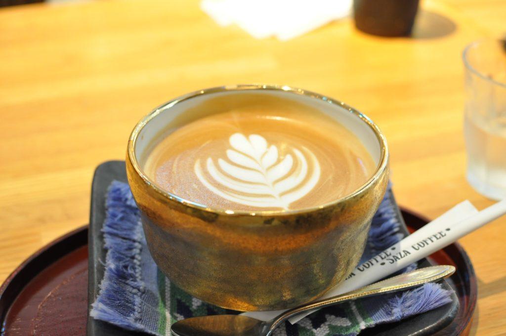 サザコーヒー大洗店 カフェラテ