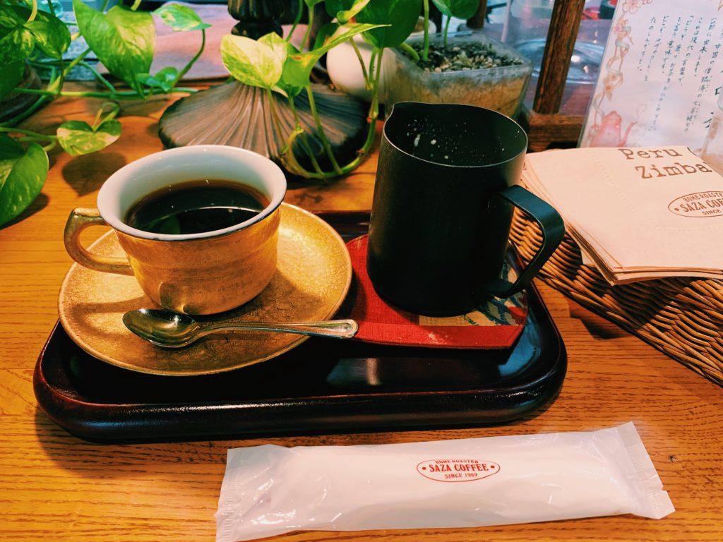 SAZA COFFEE本店徳川将軍珈琲