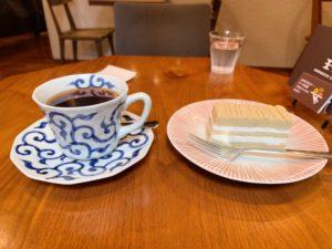 堀口珈琲世田谷店 コーヒーと和栗のモンブラン
