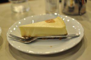アロマ珈琲 ニューヨークチーズケーキ