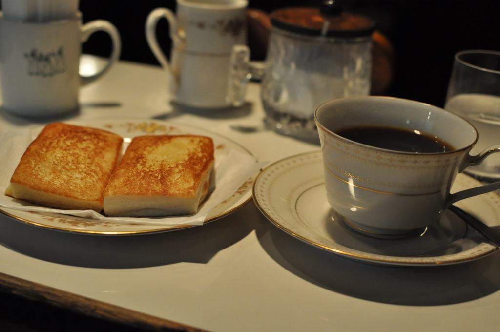 ドゥーコーヒーとクロックムッシュ