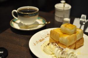 Ken'sコーヒーハニートーストセット