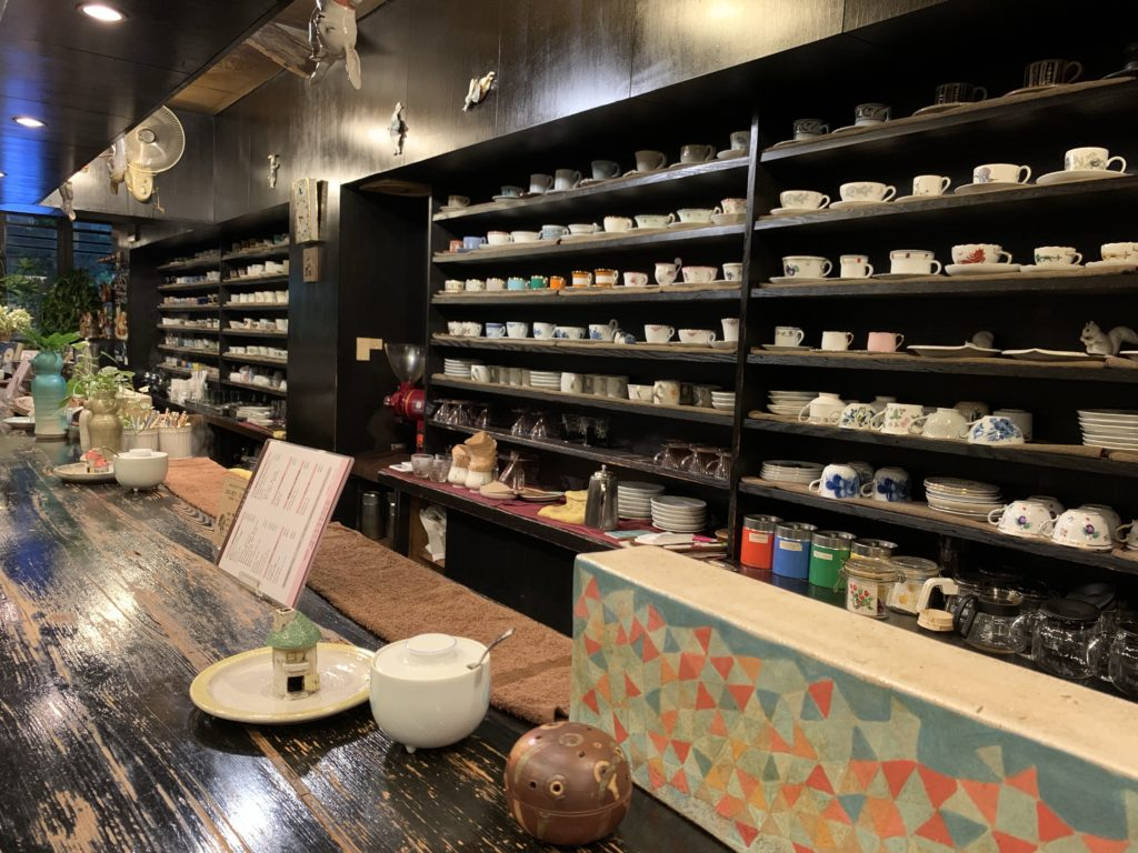古瀬戸珈琲店のカップのコレクション