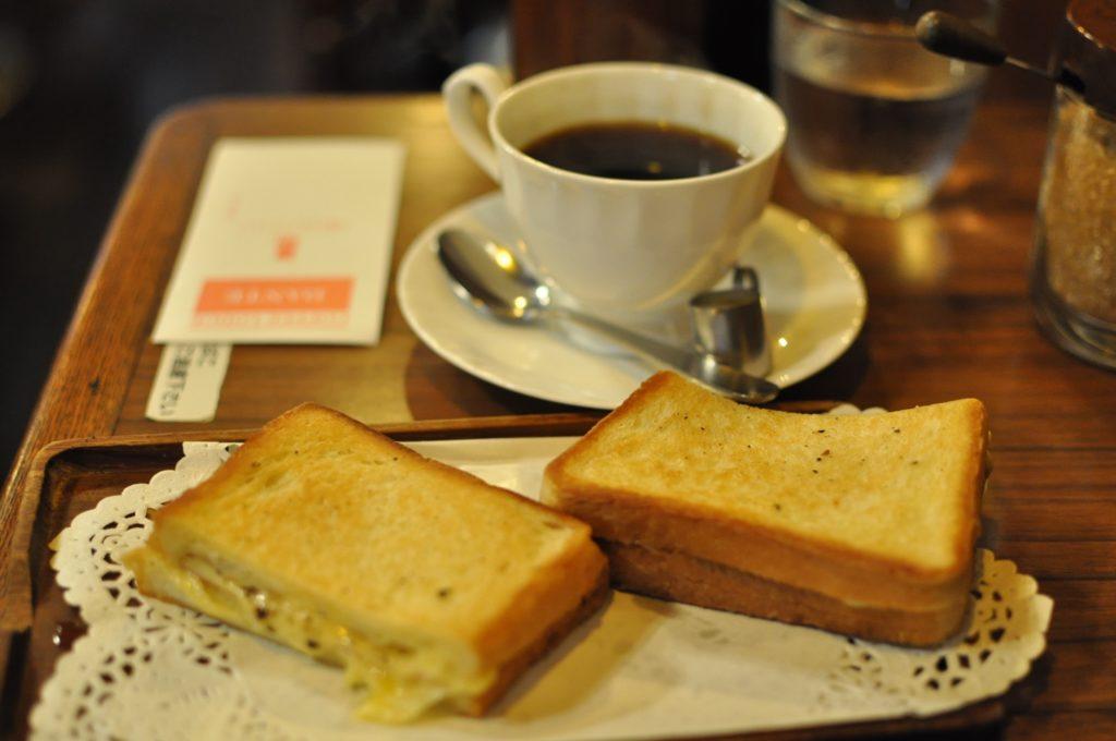 コーヒーロッジダンテ コーヒーとクロックムッシュ