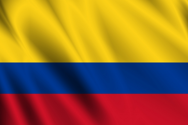 コロンビア国旗