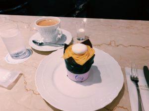 成城アルプス ケーキとコーヒー