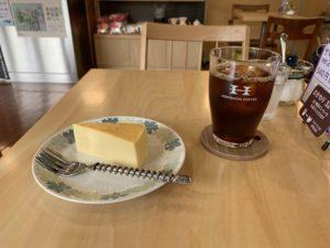 堀口珈琲サマーブレンドVer.2とチーズケーキ