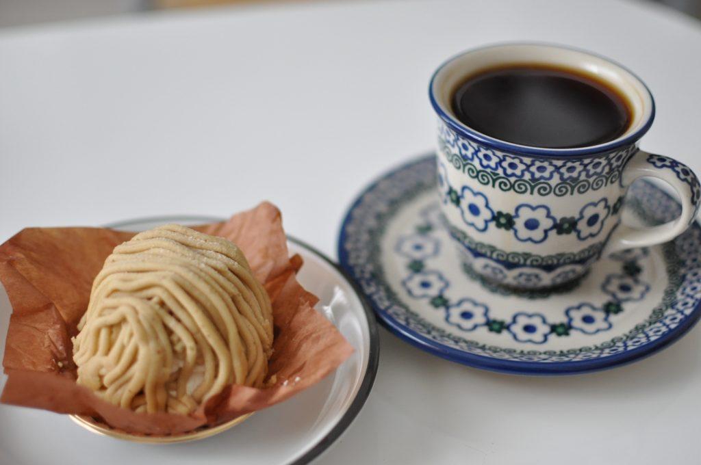 マロンシャンティ―とコーヒー