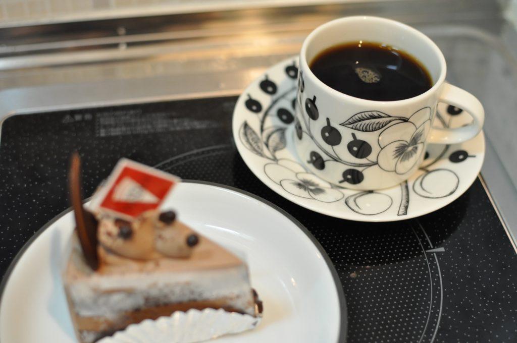 シャンティショコラとコーヒー
