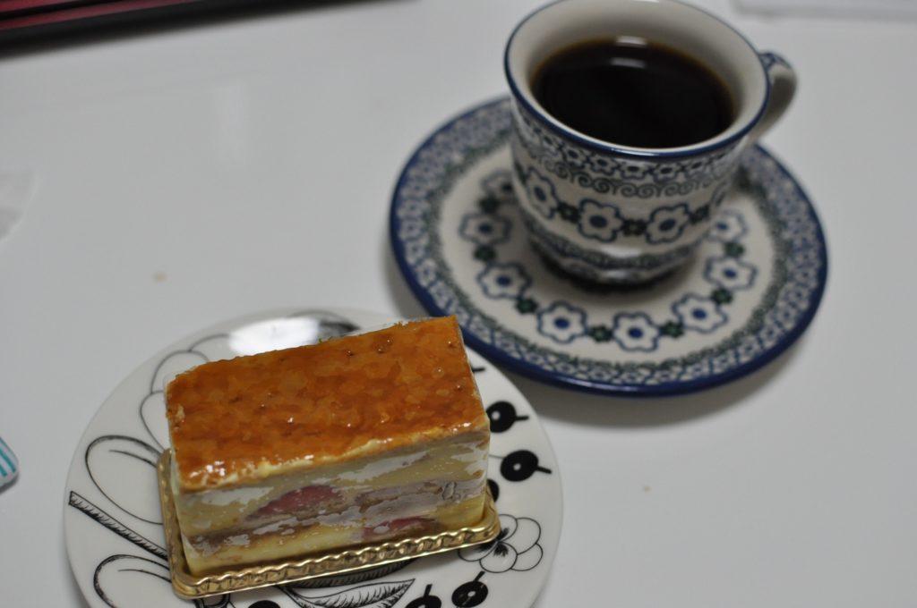 ミルフィーユとコーヒー