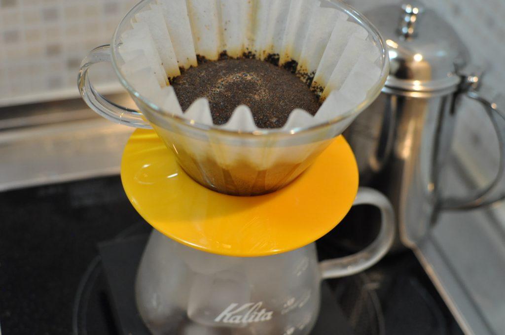 アイスコーヒー抽出中