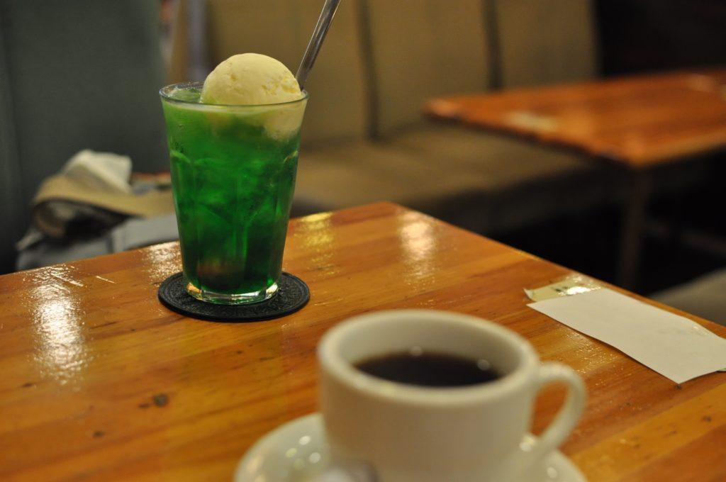 珈琲とクリームソーダ