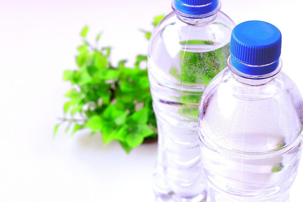 ペットボトルの硬水