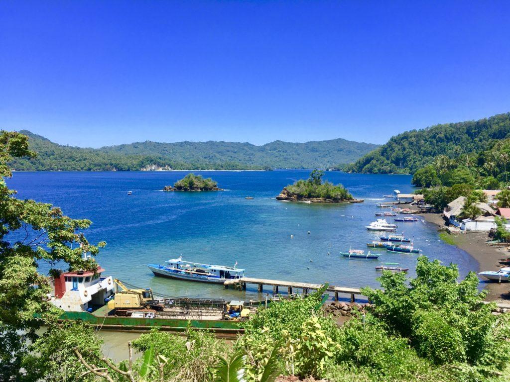 インドネシアの港
