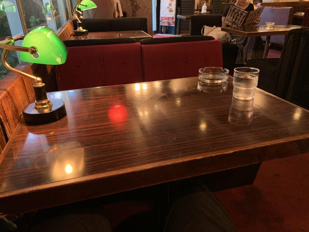 喫茶銀座の店内の雰囲気
