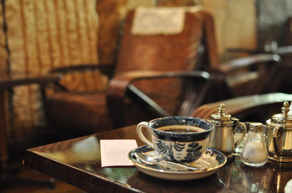 高級喫茶古城のコーヒーと雰囲気