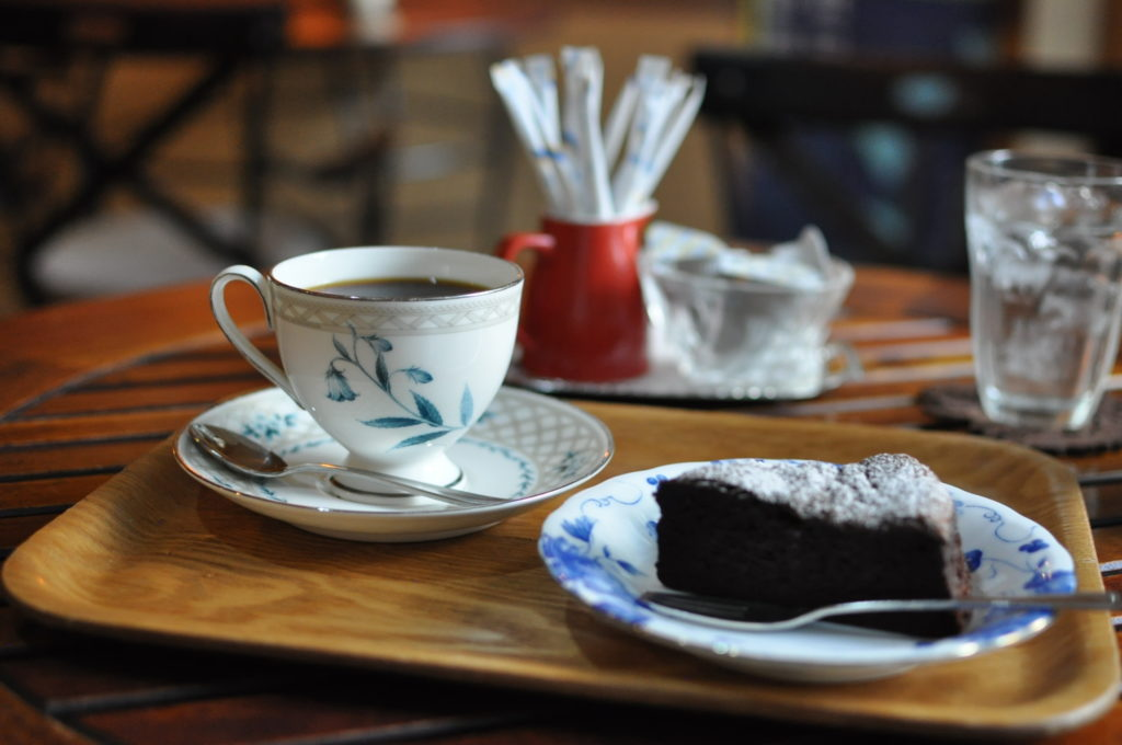 コーヒーとガトーショコラ