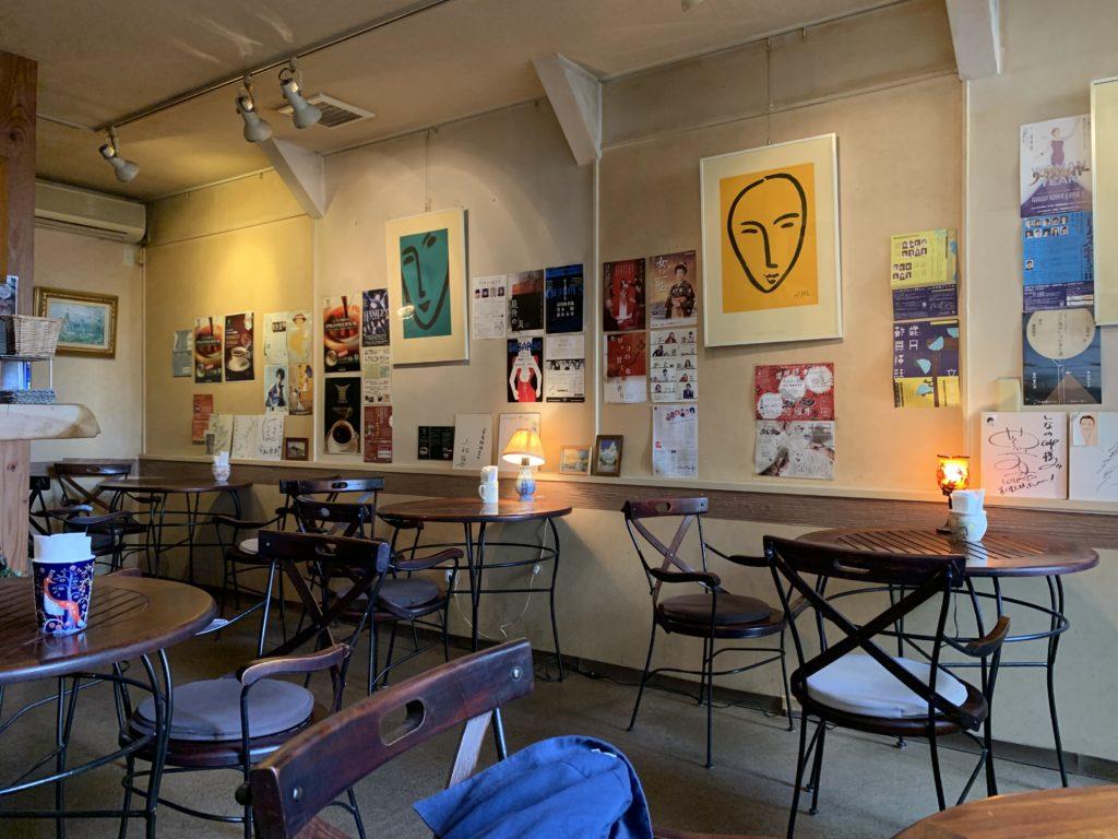 しなのcafe店内の雰囲気