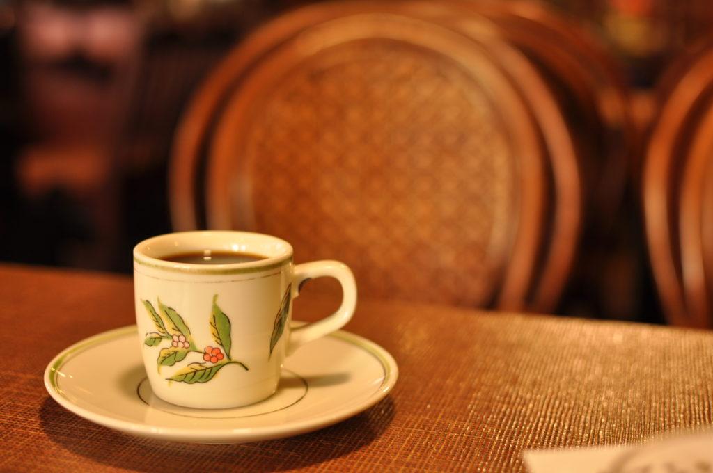 店の雰囲気とコーヒー