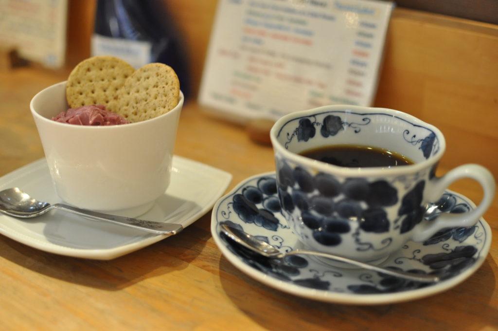 コーヒーとジェラート