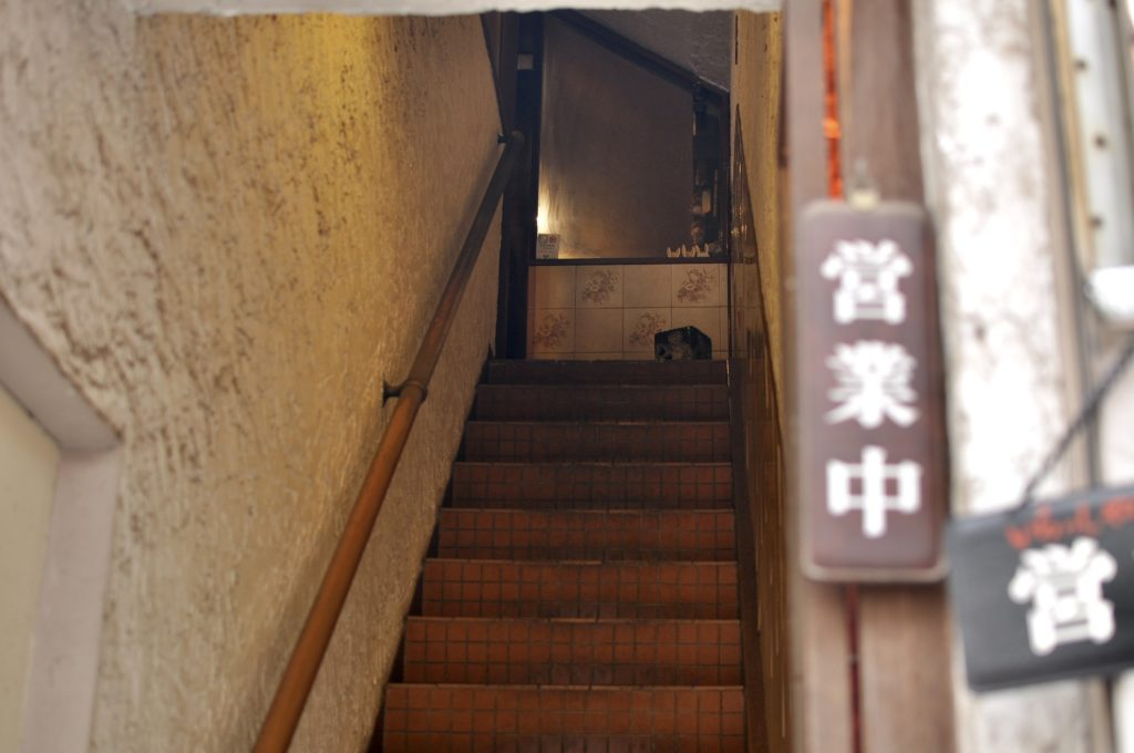 彼留哩の階段