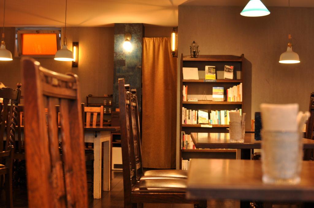 胡桃堂喫茶店の店内の様子