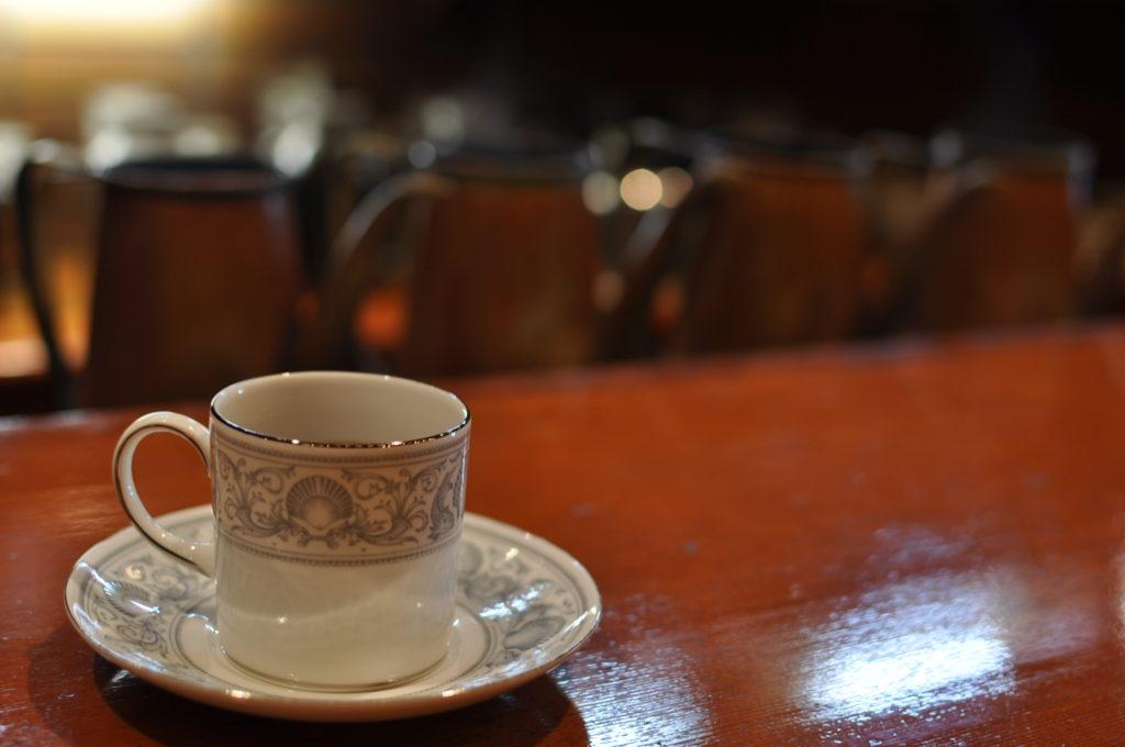 コーヒーとケトル