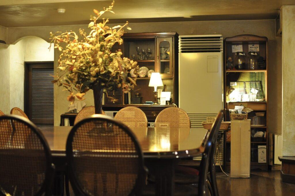 カフェグレの店内