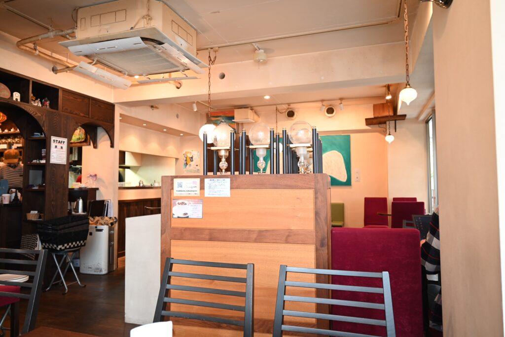 カフェ・ファソン店内