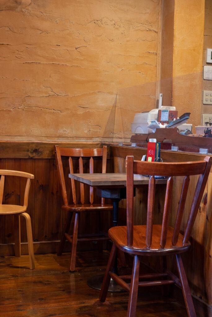コーヒーワークショップシャンティ店内