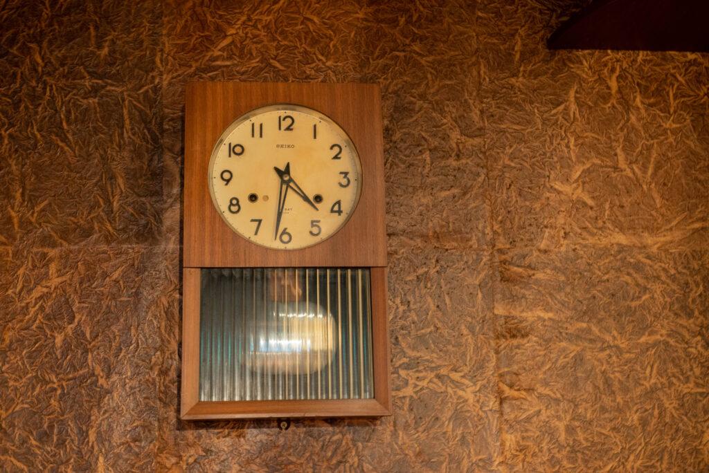 草枕の時計